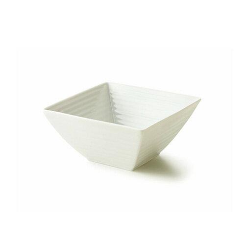 NN 16cm スクエアボール(アウトレット含む)日本製 磁器 白い食器 角鉢 大鉢 マルチボウル 業務用食器 食器 白 プレート 皿 おしゃれ 煮物鉢