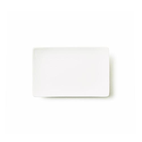 ALPHA アルファ 18×12cm 長角皿S (アウトレット含む)日本製 磁器 串皿 白い食器 取り皿 角皿 スクエア 魚皿 業務用食器 食器 白 プレート 皿 おしゃれ レクタングル 白磁 ショップ 販売 通販 テーブルウェアファクトリー