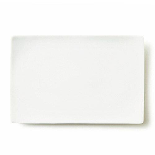 【スーパー アウトレット】アルファ 30×20cm 長角皿L日本製 磁器 白い食器 大皿 ランチ スクエア 食器 白