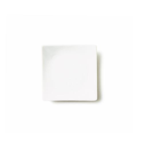 ALPHA アルファ 13cm 正角皿 (アウトレット含む)日本製 磁器 白い 角皿 小皿 取り皿 白磁 白い食器 ポーセリンアート 絵付け 食器 白 プレート 皿 おしゃれ 四角 白磁 ショップ 販売 通販 テーブルウェアファクトリー