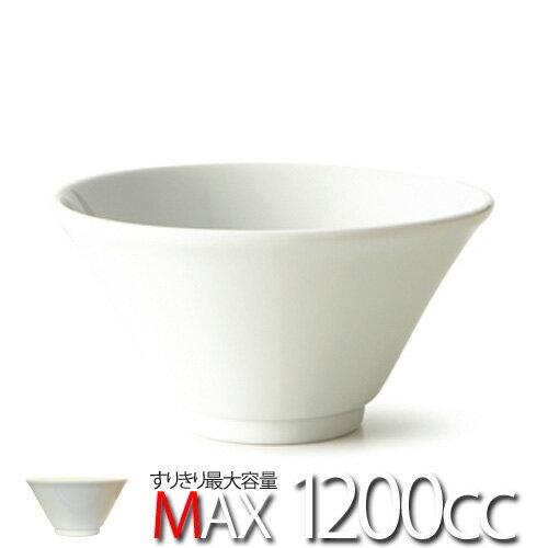 【スーパー アウトレット】洋風 らーめんボウル 日本製 磁器 白い食器 大鉢 盛り鉢 業務用 ラーメン丼 らーめん どんぶり ボール 食器 おしゃれ 白