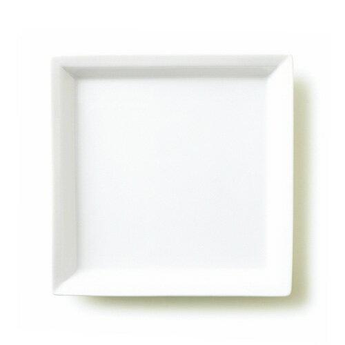カレント スクエア(アウトレット含む)食器 白 ランチプレート 日本製 磁器 角皿 オードブルプレート 白い食器 業務用食器 プレート おしゃれ 四角