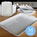 Mサイズ アンティーク トレー (アウトレット含む)日本製 磁器 透かし皿 パン皿 ポーセリンアート 陶絵付け チョコ プレート お皿 おしゃれ 食器 白 白磁 ショップ 販売 通販 テーブルウェアファクトリー