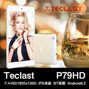 【フルHD(1980x1200) IPS液晶 BT搭載ハイスペックタブレット】【7インチ 7型】Teclast P79HD フ...