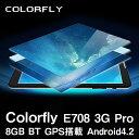 【7インチ 7型】Colorfly E708 3G Pro 8GB BT GPS搭載 Android4.2【android tablet/タブレット PC 本体】