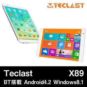 【7.9インチ 7.9型】Teclast X89 DualOS Intel Z3735F クアッドコア(1.83GHz) IPS液晶 BT搭載