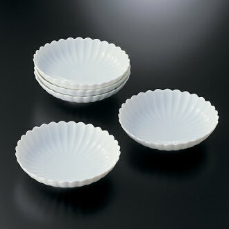 Stand; good luck white chrysanthemum small plate fs3gm