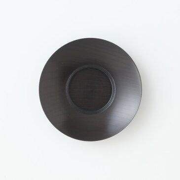 【送料無料】 たち吉 黒染 茶托 5枚 セット 1006530003 和食器 木製 茶たく けやき 山中塗