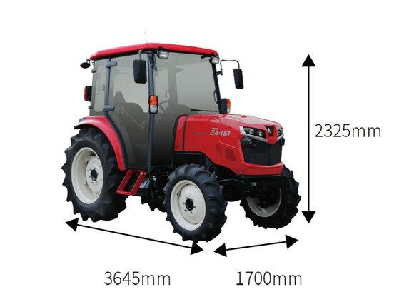 45馬力トラクター【GA451XSUV】
