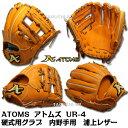 【あす楽】【ATOMS】【アトムズ】ATOMS(アトムズ)硬式グラブ 内野手用 セカンド・ショート用 UR-4 【浦上レザー】