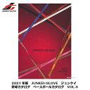 【ネコポス速達便送料無料】2021年度版 JUNKEI-GLOVE ジュンケイ 野球カタログ ベースボールカタログ