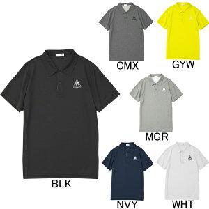 2019年春夏モデル【ルコック】le coq sportif 半袖ポロシャツ QMMNJA71ZZ ゴルフ・ランニング・フィットネス メンズ