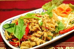 タイ料理人気メニュー!豚肉とタイハーブ(ガッパオ)炒め!タイハーブの風味がやみつきのおい...