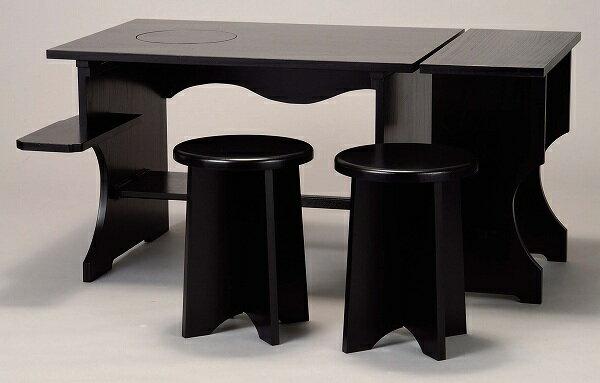茶道具IH兼用 新型 立礼棚セット流派を問わず ご使用出来ます。:佐藤大観堂