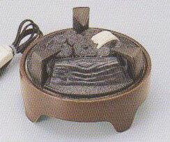 茶道具遠赤外線 炭型 電熱器炉用 電気炭YU-021-3P強弱切替スイッチ付画像