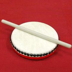 エイサー踊りには欠かせない楽器、パーランクパーランクーミニ(18cm)・バチ付き -幼児・園児向...