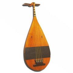 雅楽の管絃、催馬楽(さいばら)に用いる琵琶琵琶(楽琵琶)・別製