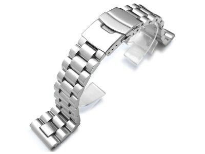 ◆送料無料◆22mm TAIKONAUTメタル時計バンド ステンレススチール エンドミル ブレスレット ブ...