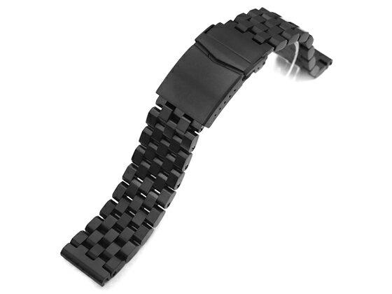 腕時計用アクセサリー, 腕時計用ベルト・バンド 21.5mm 2 DLC V for SEIKO Tuna SBBN011, SBBN013, SBBN025, SBBN029