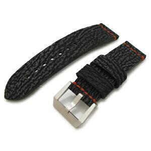 24mm MiLTAT watch belt Shark BPV10S7A02 Panerai 44mm
