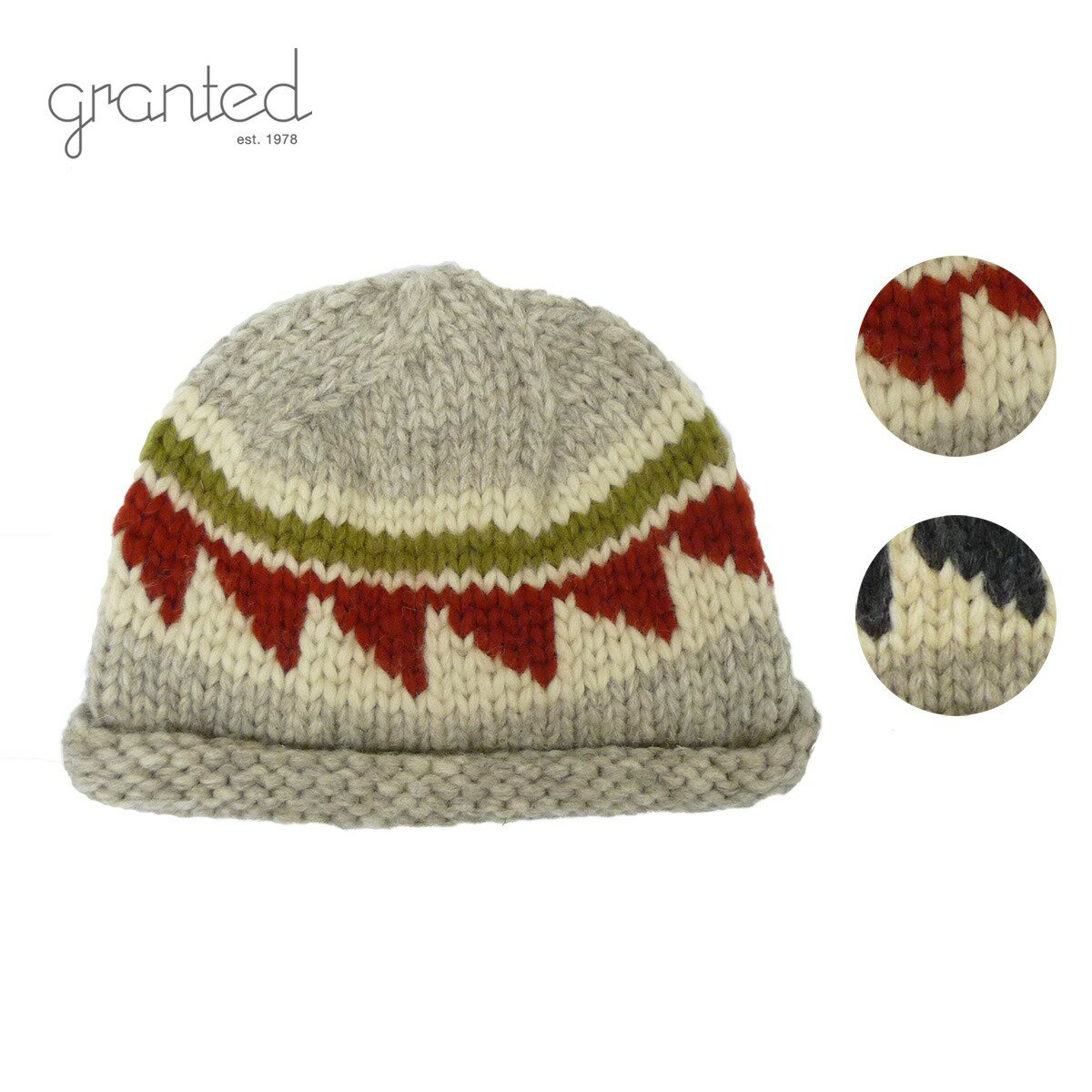 GRANTED グランテッド KNIT CAP CYPRESS TOQUE HAT