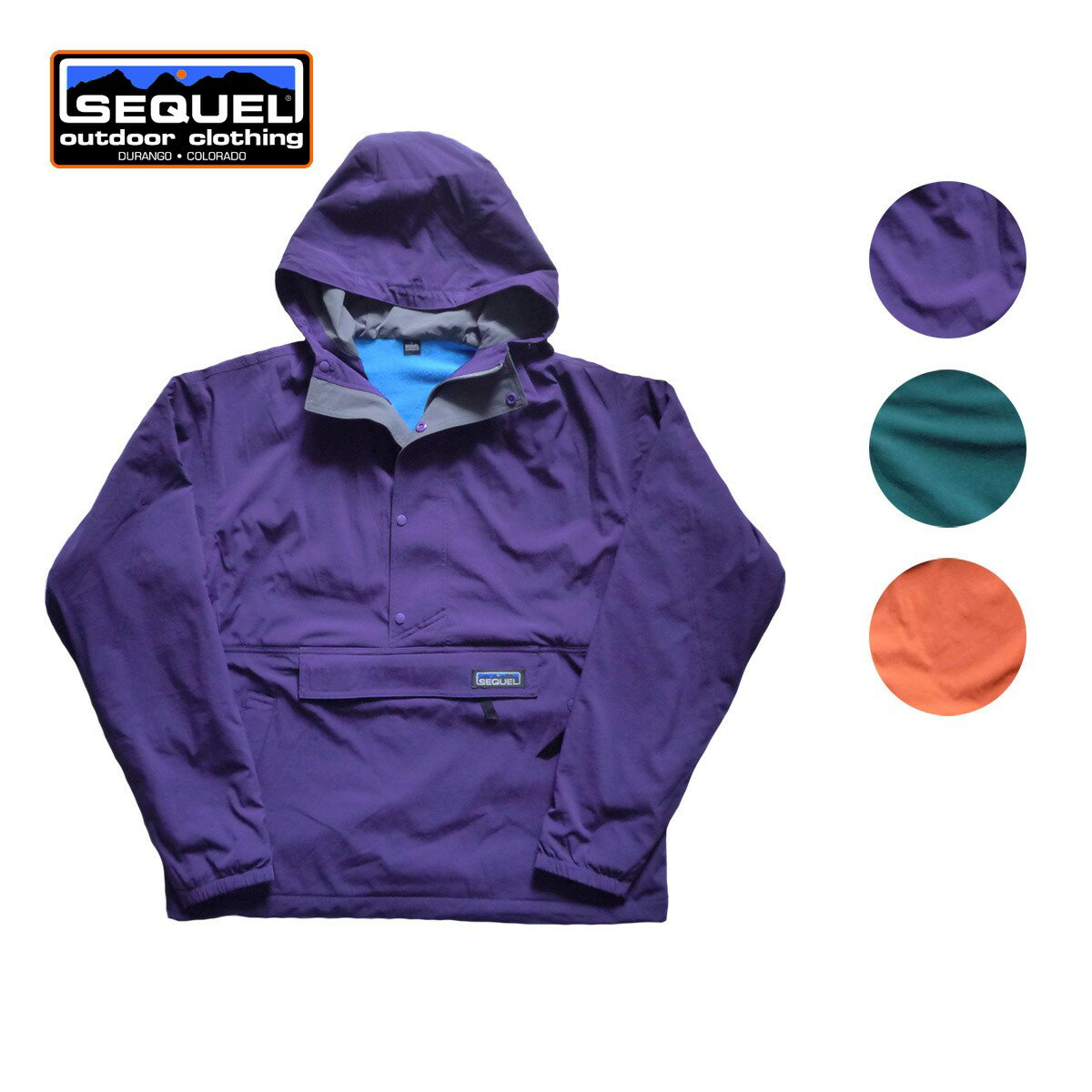 SEQUEL シークエル ANORAK FLEECE PARKA