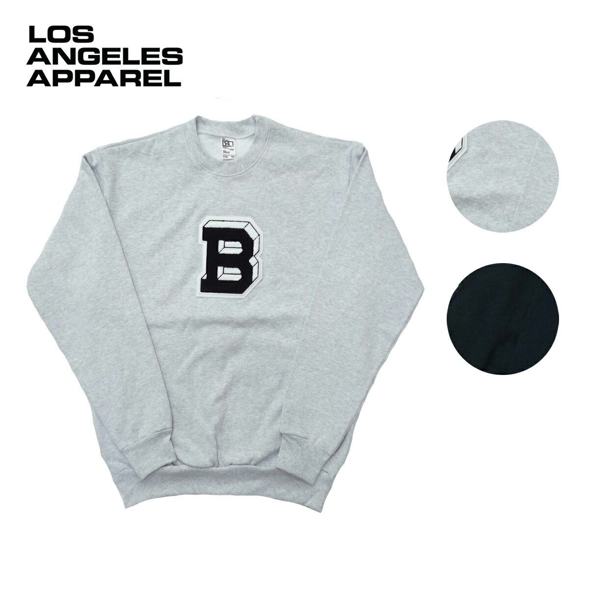 LOS ANGELES APPAREL ロサンゼルスアパレル TAILGATE別注 14oz WAPPEN SWEAT SHRTS