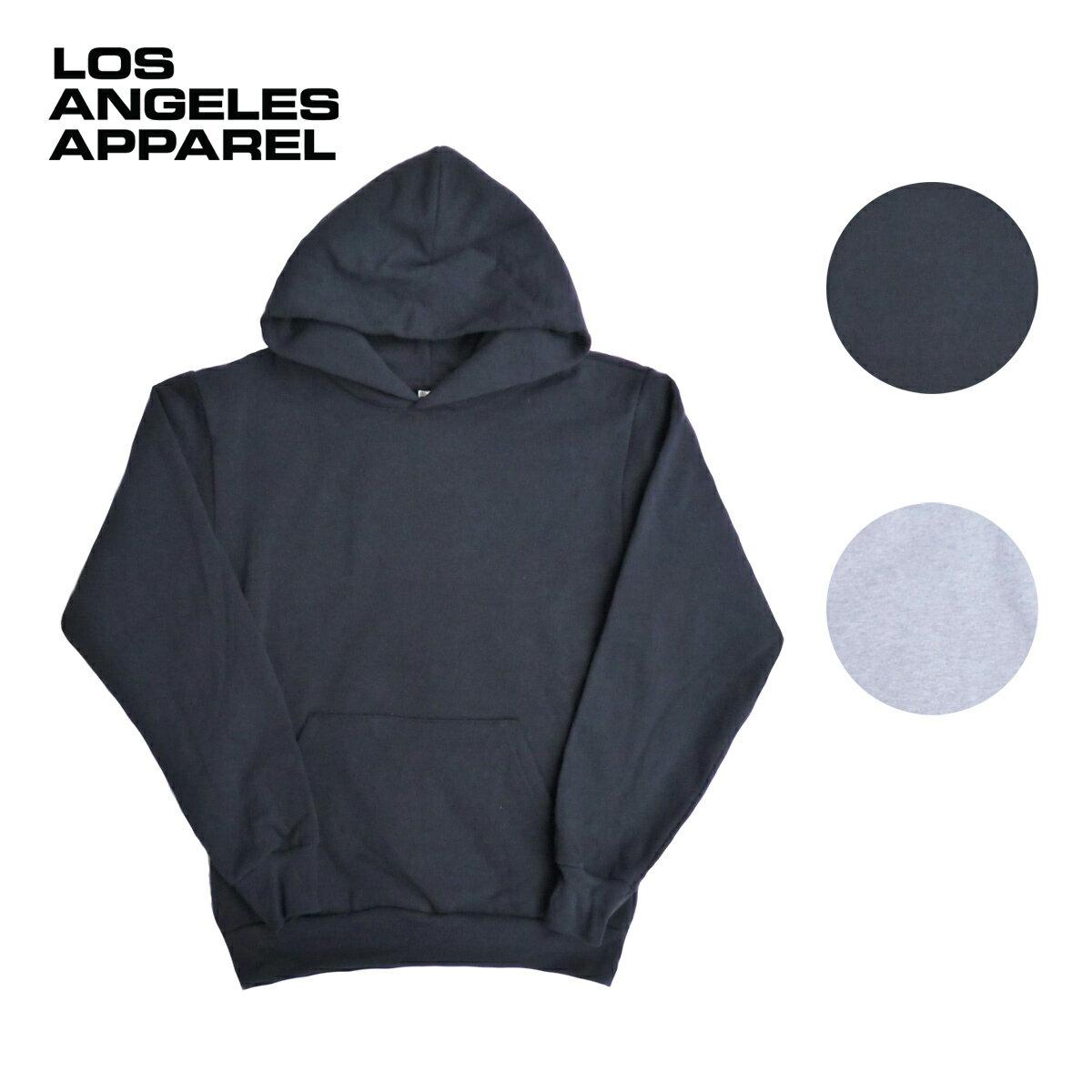 LOS ANGELES APPAREL ロサンゼルスアパレル 14oz SWEAT P/O HOODIE