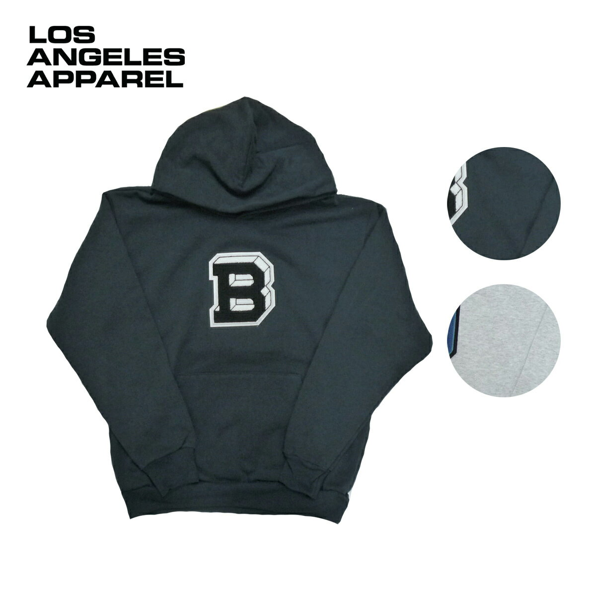 LOS ANGELES APPAREL ロサンゼルスアパレル TAILGATE別注 14oz WAPPEN SWEAT P/O HOODIE