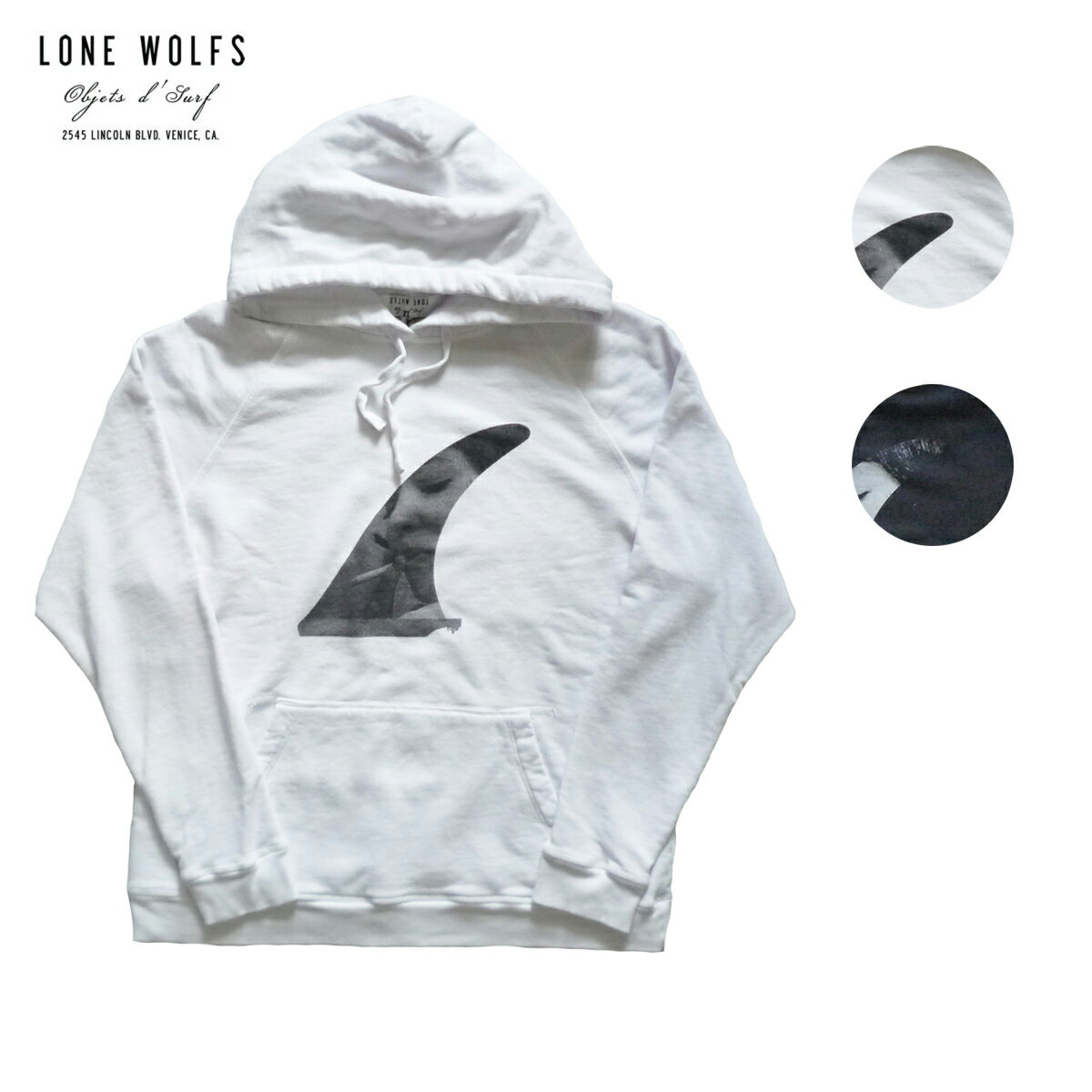 LONE WOLFS ローンウルフズ SWEAT HOODIE PHOTO FINS