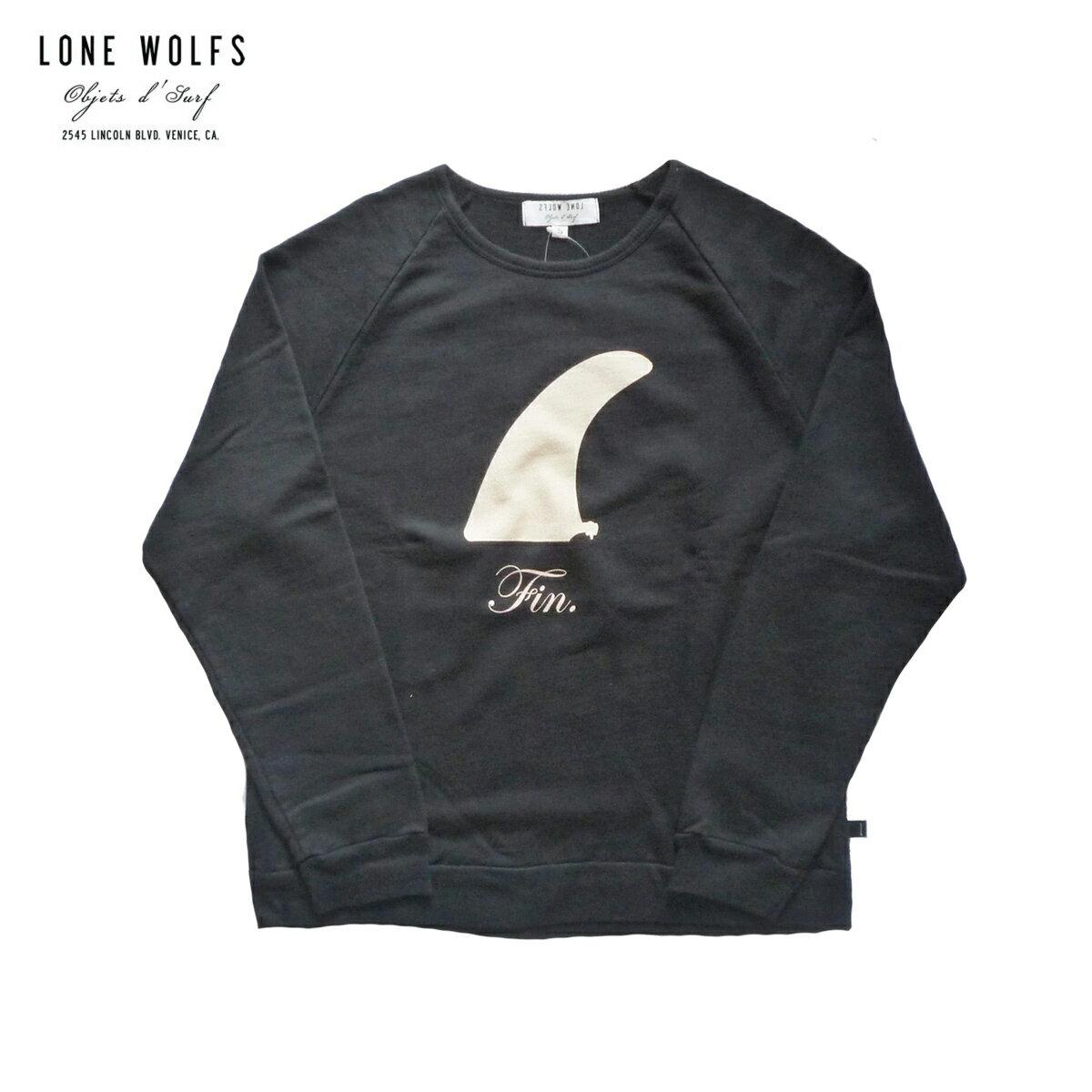 LONE WOLFS ローンウルフズ CREW SWEAT FIN