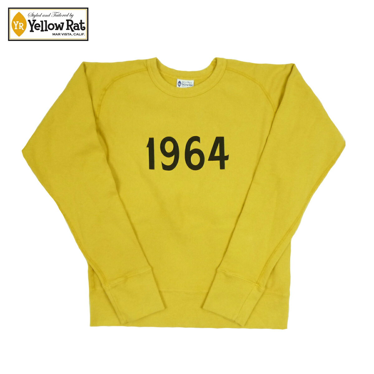 Yellow Rat イエローラット CREW SWEAT 1964