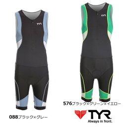 ティア (TYR)トライアスロンウェア コンペティタートライスーツ フロントジッパー TCMSXP6A メンズ(男性用)【USサイズ】
