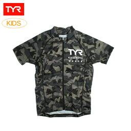 ティア (TYR)トライアスロンウェア トライジッパーシャツ TSHT2-17S キッズ(子供用)【日本製】
