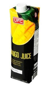 【訳あり】UFC マンゴードリンク 1000ml 果汁23% 賞味期限2020.10.31