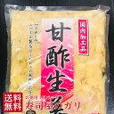 がり 大容量 お徳用 1キロパック たいの鯛ならではの本格寿司ガリ 寿司ガリ 真空混ぜご飯酢漬け 漬物生姜漬け メール便送料無料