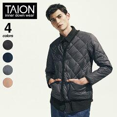 Taion Piped Down Cardigan 101CIM: Black