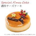 【特製 クリスマスケーキ 予約 2020】濃厚チーズケーキ