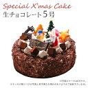 【特製 クリスマスケーキ 予約 2021】生チョコレートケーキ5号 直径15cm