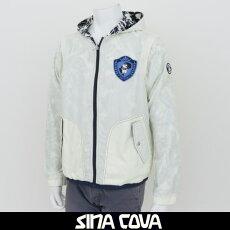SINACOVA(シナコバ)袖取り外し可フード付きジャンバー