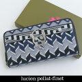 LucienPellat-finet(ルシアンペラフィネ)ラウンドファスナー財布