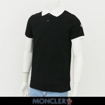 MONCLER(モンクレール)【メンズウェア】半袖ポロシャツ【ブラック】D1 091 8309850 84556
