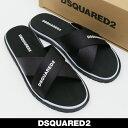 DSQUARED2(ディースクエアード)サンダルブラックSL...