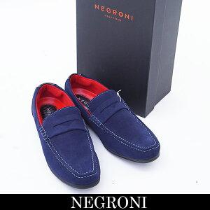 Negroni(ネグローニ)ドライビングシューズネイビーW.PENNY
