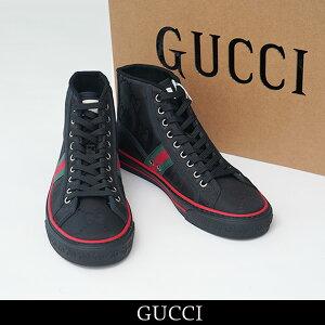 GUCCI(グッチ)Gucci Off The Grid メンズ ハイトップスニーカーブラック628717 H9H80 1074