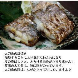 太刀魚(山口県周防大島産)1kgもしくは長崎のブランド五島太刀(たちうお)