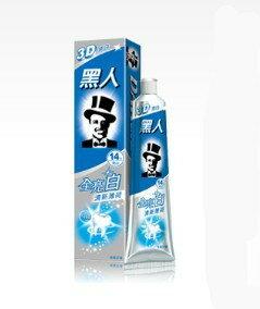 台湾では知らない人はいない人気の歯磨き粉です!!!送料無料!台湾お土産【歯磨き粉】台湾 黒人 ...