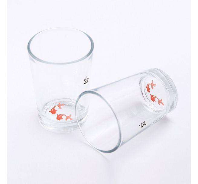 台味誌オリジナル:金魚ちゃんグラス