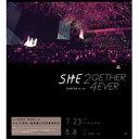 日本全国送料一律324円!S.H.E(エスエイチイー)「2gether4ever」3DVD演唱會影音館(平装發行版...
