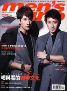 ◆送料無料呉尊(ウーズン)ハンギョン表紙雑誌men's uno2011年8月号(香港版)